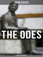 The Odes of John Keats - Complete Collection