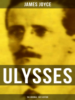 ULYSSES (The Original 1922 Edition)