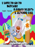 I Love to Go to Daycare (English Russian Bilingual Book)