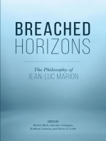Breached Horizons: The Philosophy of Jean-Luc Marion