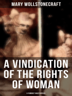 A Vindication of the Rights of Woman (A Feminist Masterpiece)