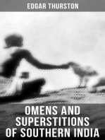 OMENS AND SUPERSTITIONS OF SOUTHERN INDIA