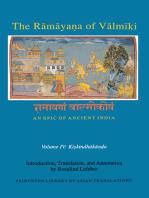 The Rāmāyaṇa of Vālmīki: An Epic of Ancient India, Volume IV: Kiskindhakāṇḍa