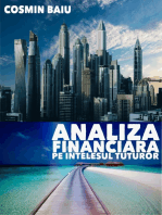 Analiza Financiara pe intelesul tuturor