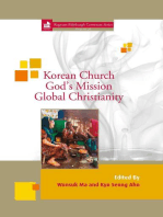 Korean Church, God's Mission, Global Christianity