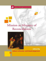 Mission as Ministry of Reconciliation