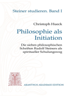 Philosophie als Initiation