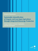 Sustainable Intensification of Organic and Low-Input Agriculture through Integrated Bioenergy Production