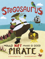 Stegosaurus Would NOT Make a Good Pirate