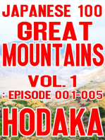 Japanese 100 Great Mountains Vol.1