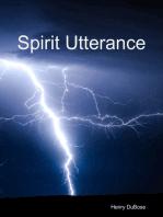 Spirit Utterance