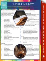 Civil Case Law (Speedy Study Guides)