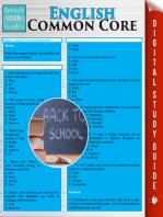 English Common Core (Speedy Study Guides)
