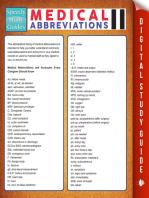 Medical Abbreviations Il (Speedy Study Guides)