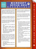 Microsoft Office 2013 Essentials (Speedy Study Guides)