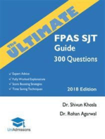 The Ultimate FPAS SJT Guide
