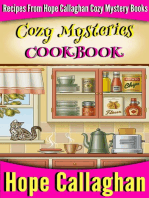 Cozy Mysteries Cookbook