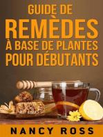 Guide de remèdes à base de plantes pour débutants