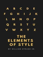 The Elements of Style (4th Edition) (Active TOC) (A to Z Classics)