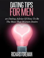 Dating Tips for Men:20 Dating Advice of How to Be the Man That Women Desire