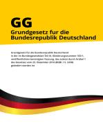 Grundgesetz für die Bundesrepublik Deutschland (GG)
