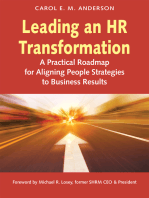 Leading an HR Transformation