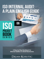 ISO Internal Audit – A Plain English Guide