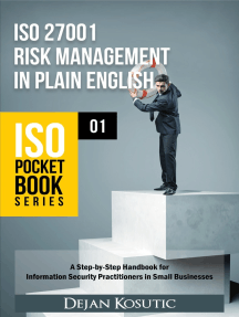 ISO 27001 Risk Management in Plain English: A Step-by-Step Handbook for Information Security Practitioners in Small Businesses