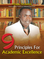 9 Principles For Academic Excellence