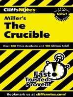 CliffsNotes on Miller's The Crucible
