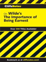 CliffsNotes on Wilde's The Importance of Being Earnest