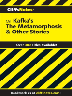 CliffsNotes on Kafka's The Metamorphosis & Other Stories