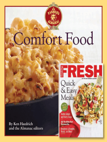 The Old Farmer's Almanac Comfort Food & Cooking Fresh Bookazine: Every dish you love, every recipe you want