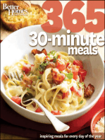 Better Homes and Gardens 365 30-Minute Meals