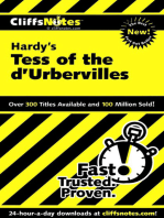 CliffsNotes on Hardy's Tess of the d'Urbervilles