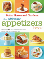 The Ultimate Appetizers Book