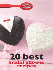 Betty Crocker 20 Best Bridal Shower Recipes