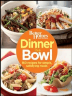 Better Homes and Gardens Dinner in a Bowl