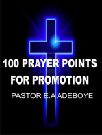 100 Prayer Points For Promotion