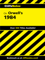 CliffsNotes on Orwell's 1984