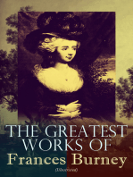 The Greatest Works of Frances Burney (Illustrated)