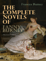 The Complete Novels of Fanny Burney (Illustrated Edition)