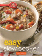 Betty Crocker Easy Slow Cooker Recipes