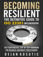Becoming Resilient – The Definitive Guide to ISO 22301 Implementation
