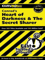 CliffsNotes on Conrad's Heart of Darkness & The Secret Sharer