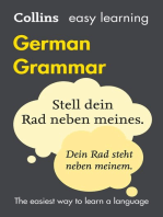 Easy Learning German Grammar: Trusted support for learning