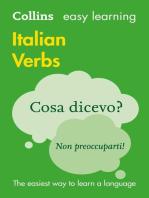 Easy Learning Italian Verbs