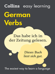 Easy Learning German Verbs: Trusted support for learning
