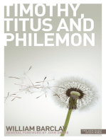 New Daily Study Bible - The Letters to Timothy, Titus & Philemon