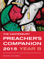 The Canterbury Preacher's Companion 2015